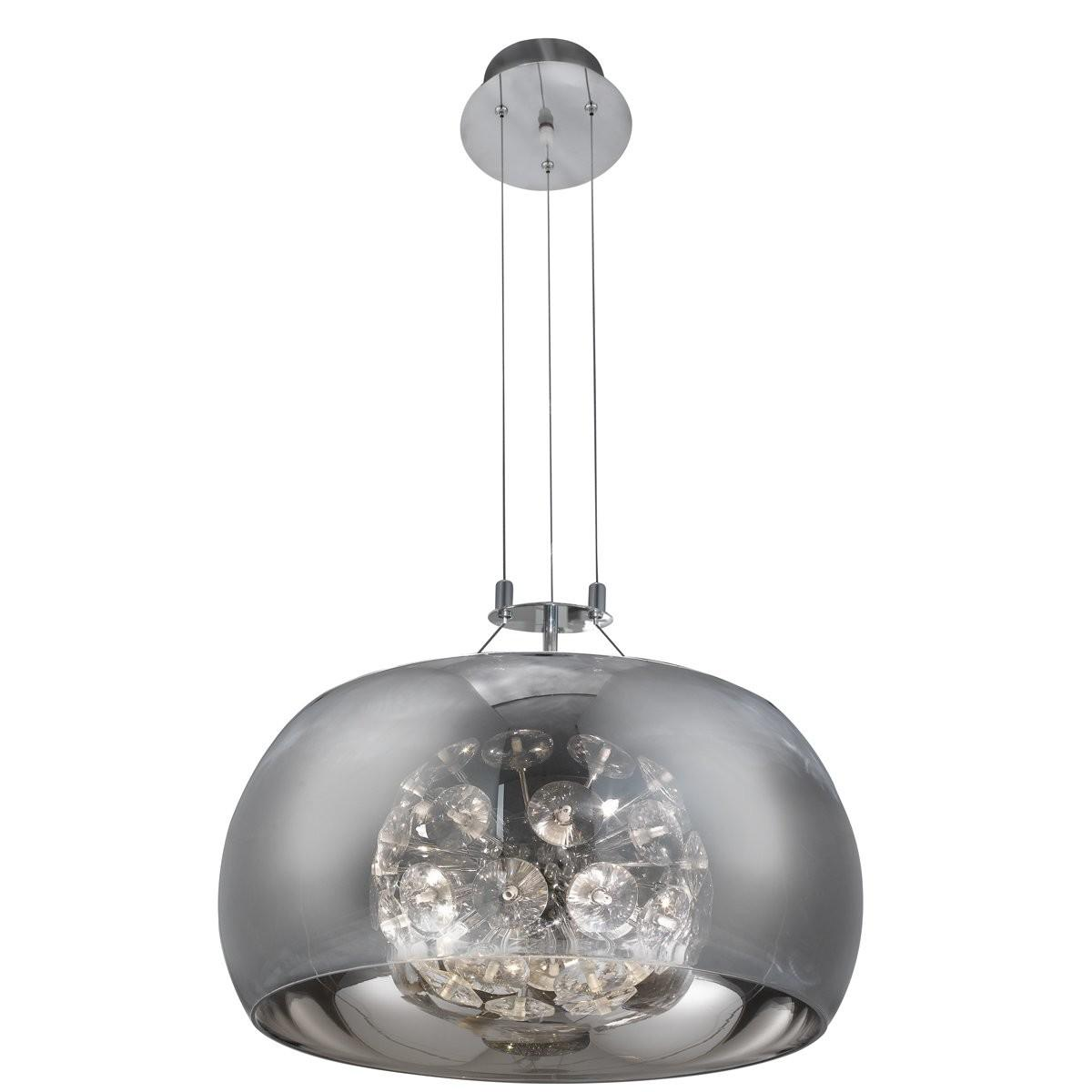 Searchlight Curva Light Drum Pendant