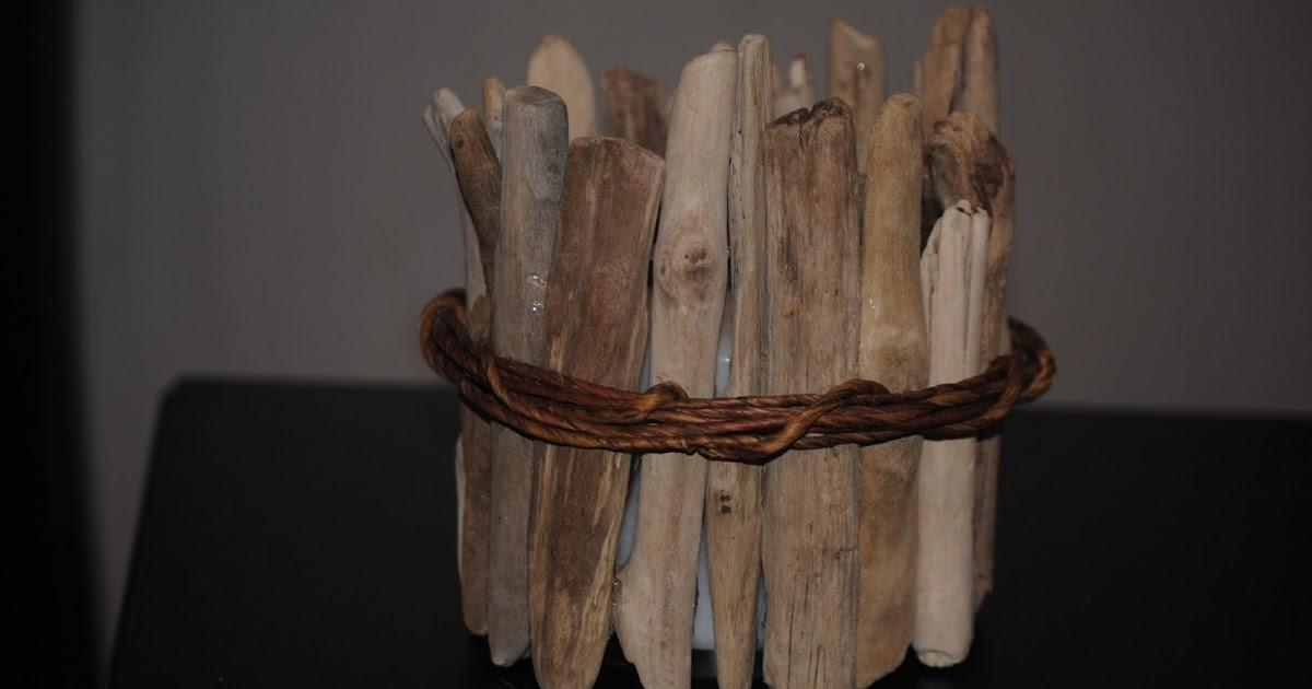 Seaside Style Ballard Designs Inspired Driftwood Candle