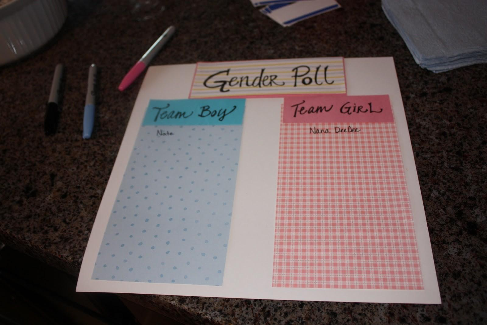 Seasons Autumn Our Gender Reveal Party