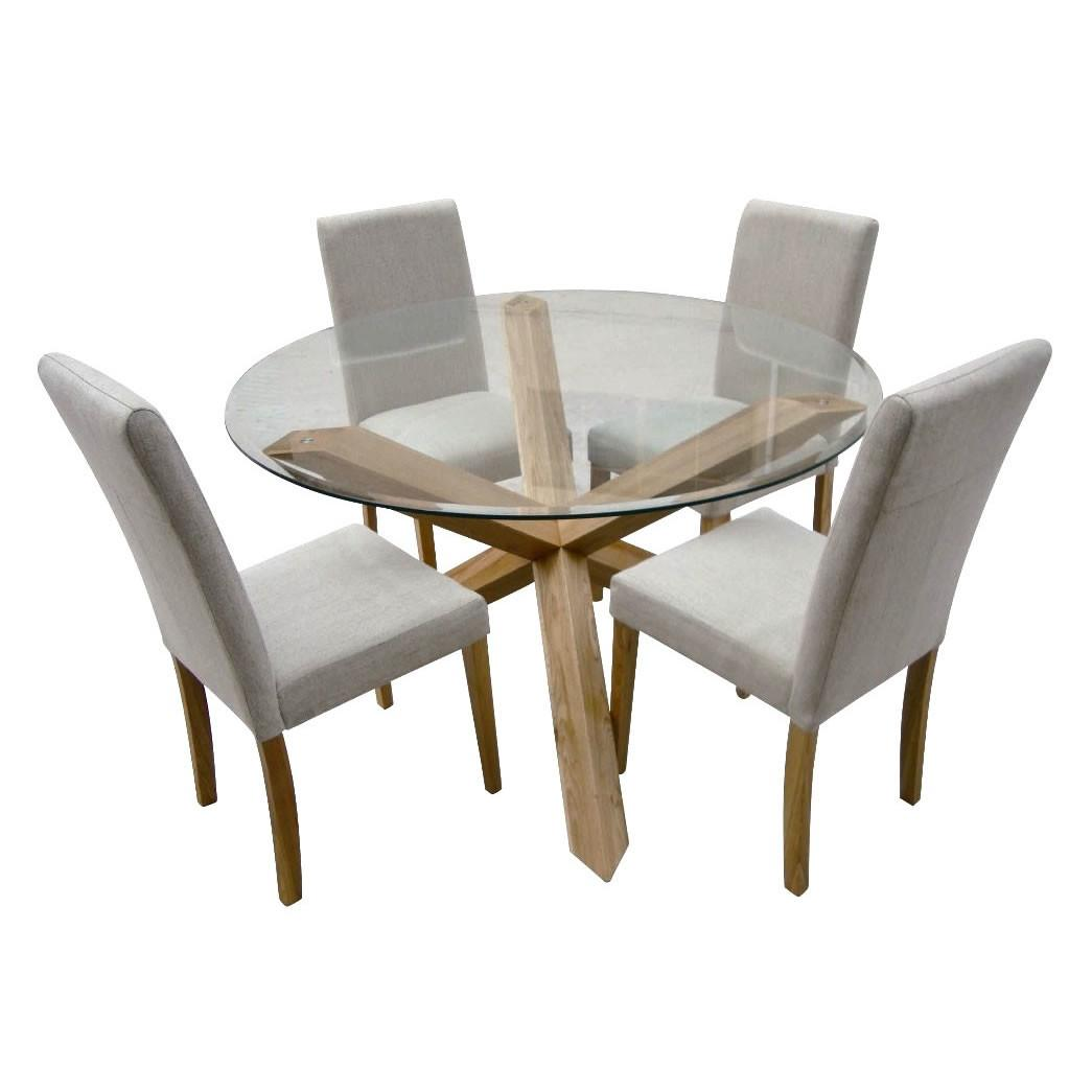 Seater Glass Dining Table Chairs