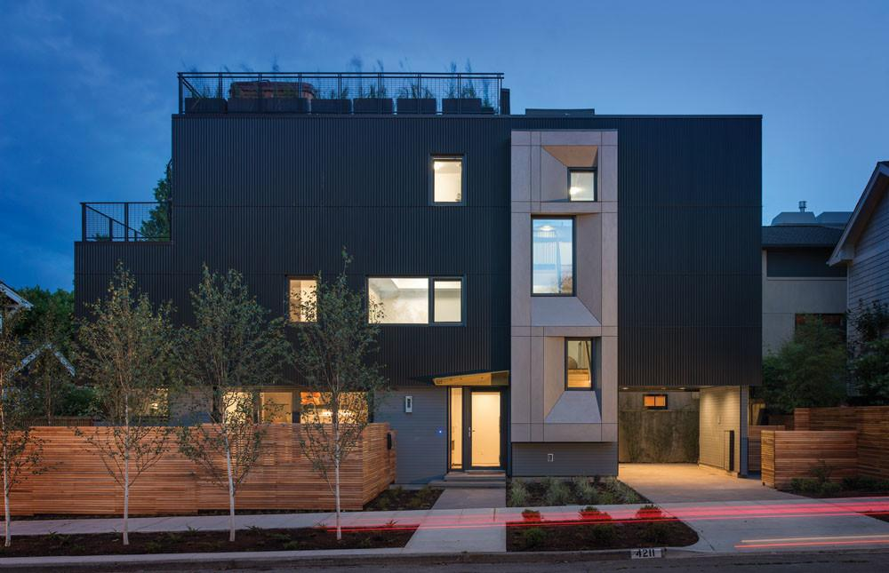 Seattle First Certified Passive House Modern Family