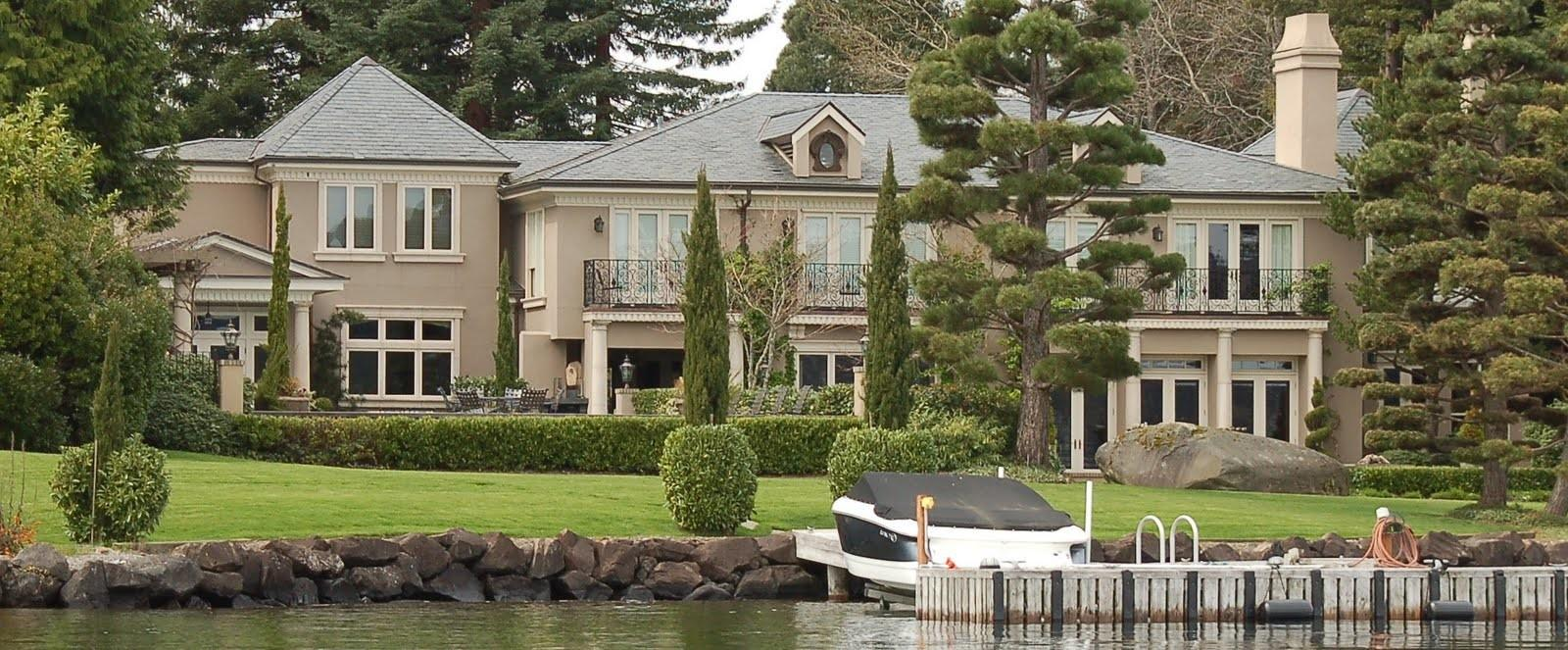 Seattle Mansions Russo Hunts Point Mansion Sells