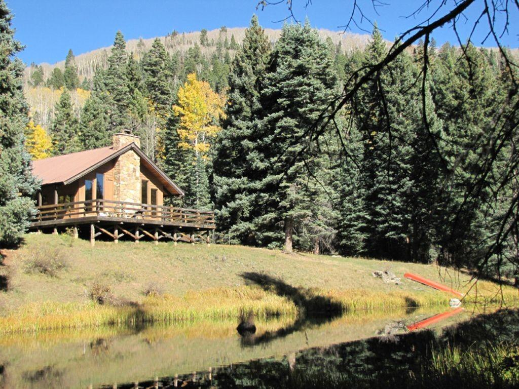 Secluded Mountain Meadow Home Vallecito Homeaway