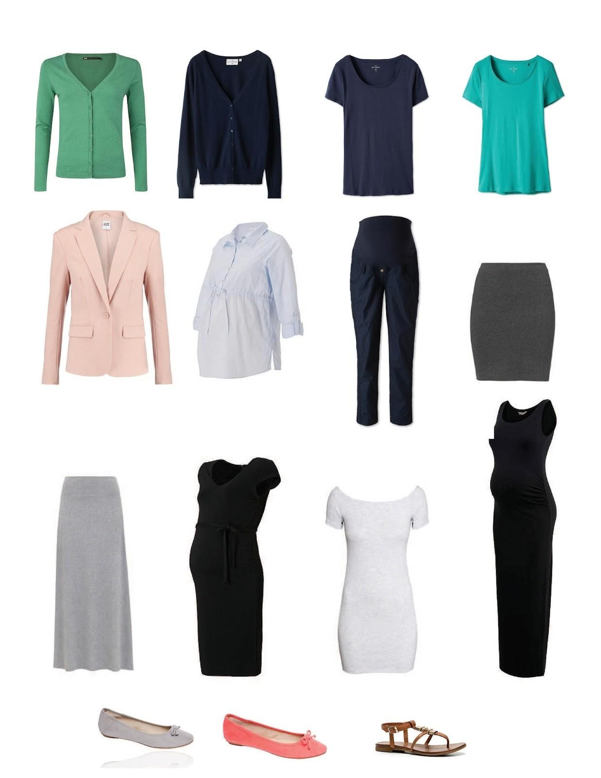 Second Third Trimester Capsule Wardrobe