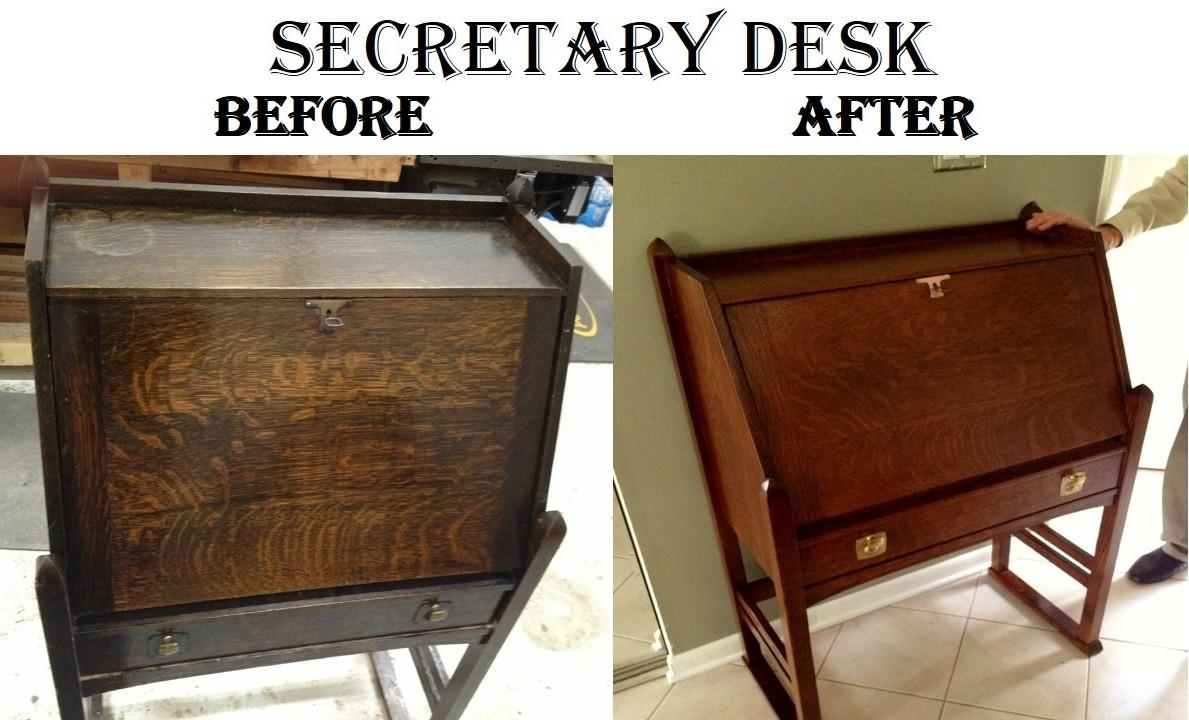 Secretary Desk Hudson Woodworking Restoration