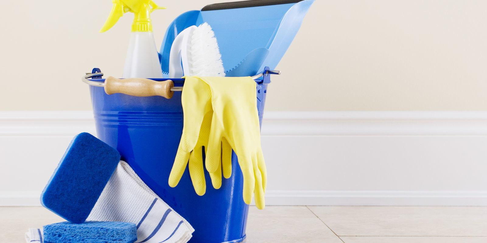 Secrets Cleaning Your Home Half Time