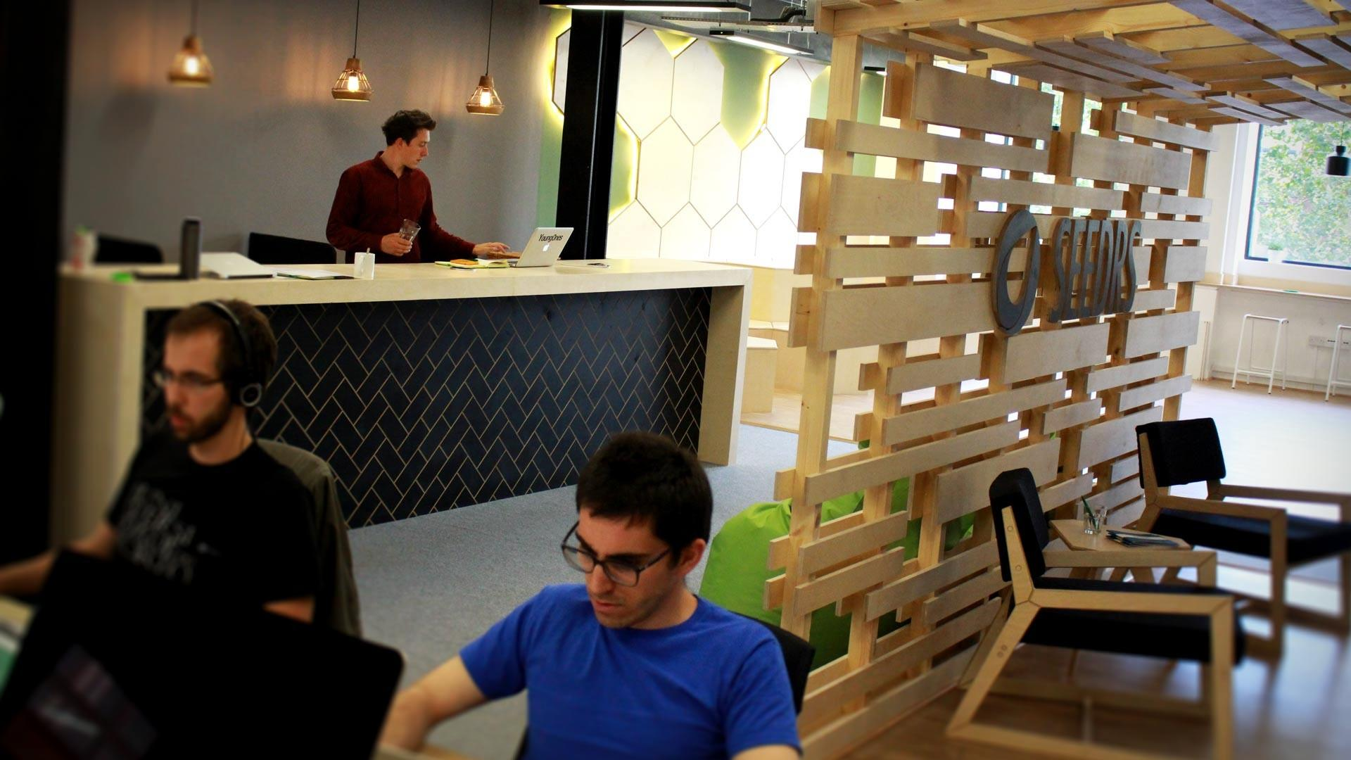 Seedrs Office Design Commercial Interiors Workspace