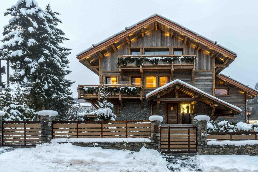 Self Catering Holiday Chalet Alps Ref