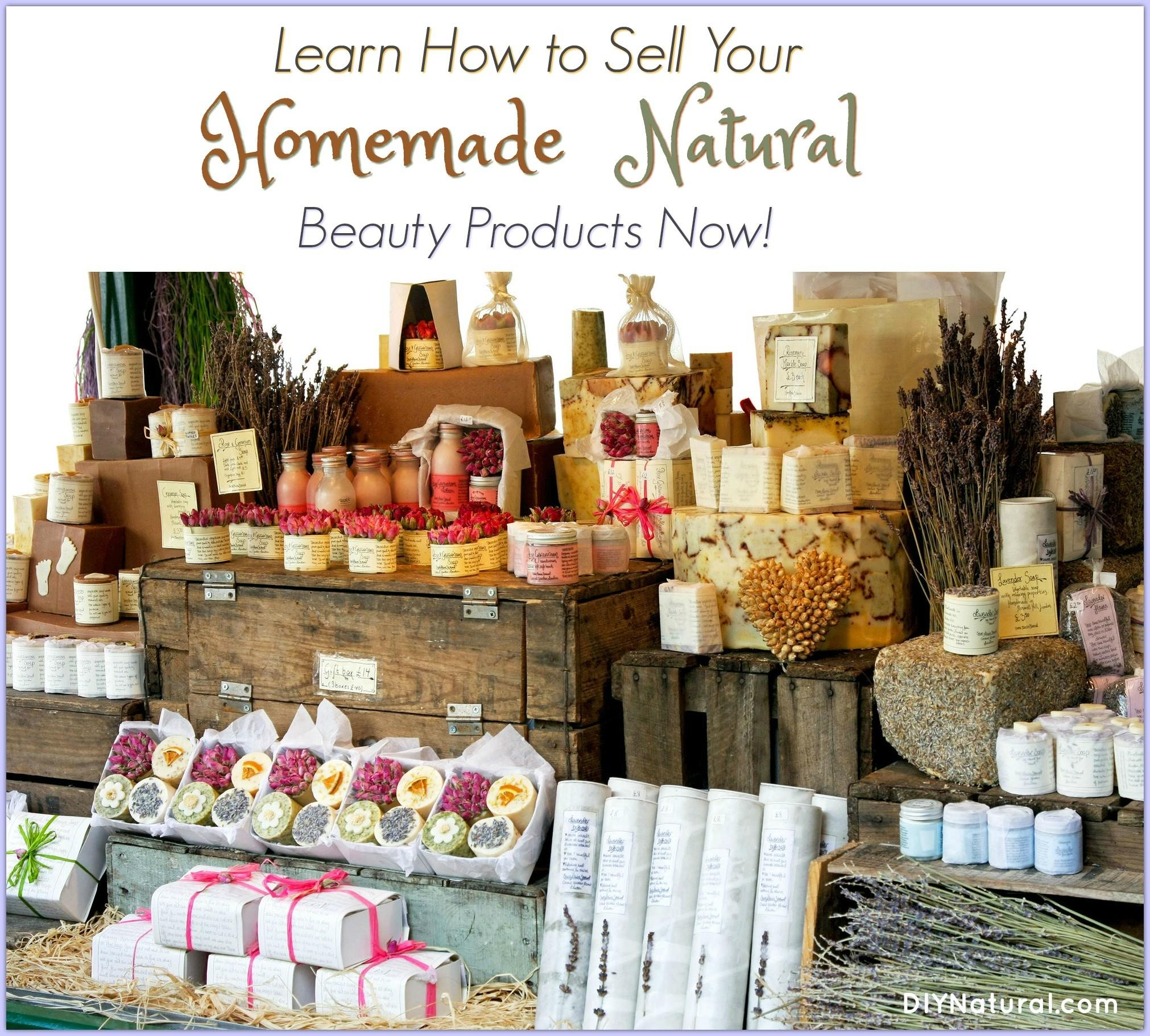 Sell Homemade Products Health Beauty Edition