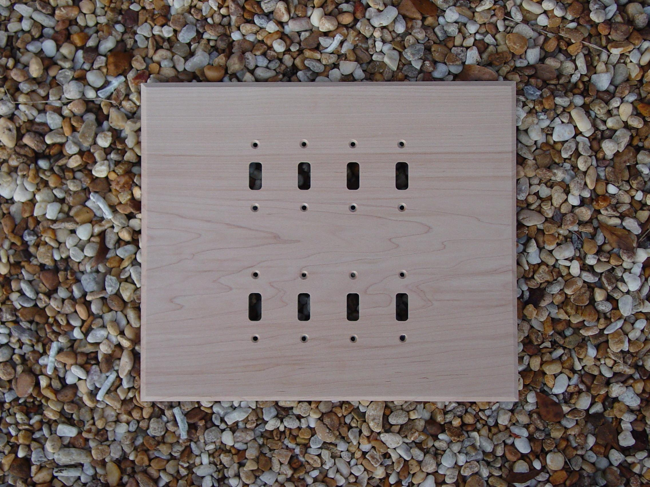 Sell Wood Switch Plates Wall Log