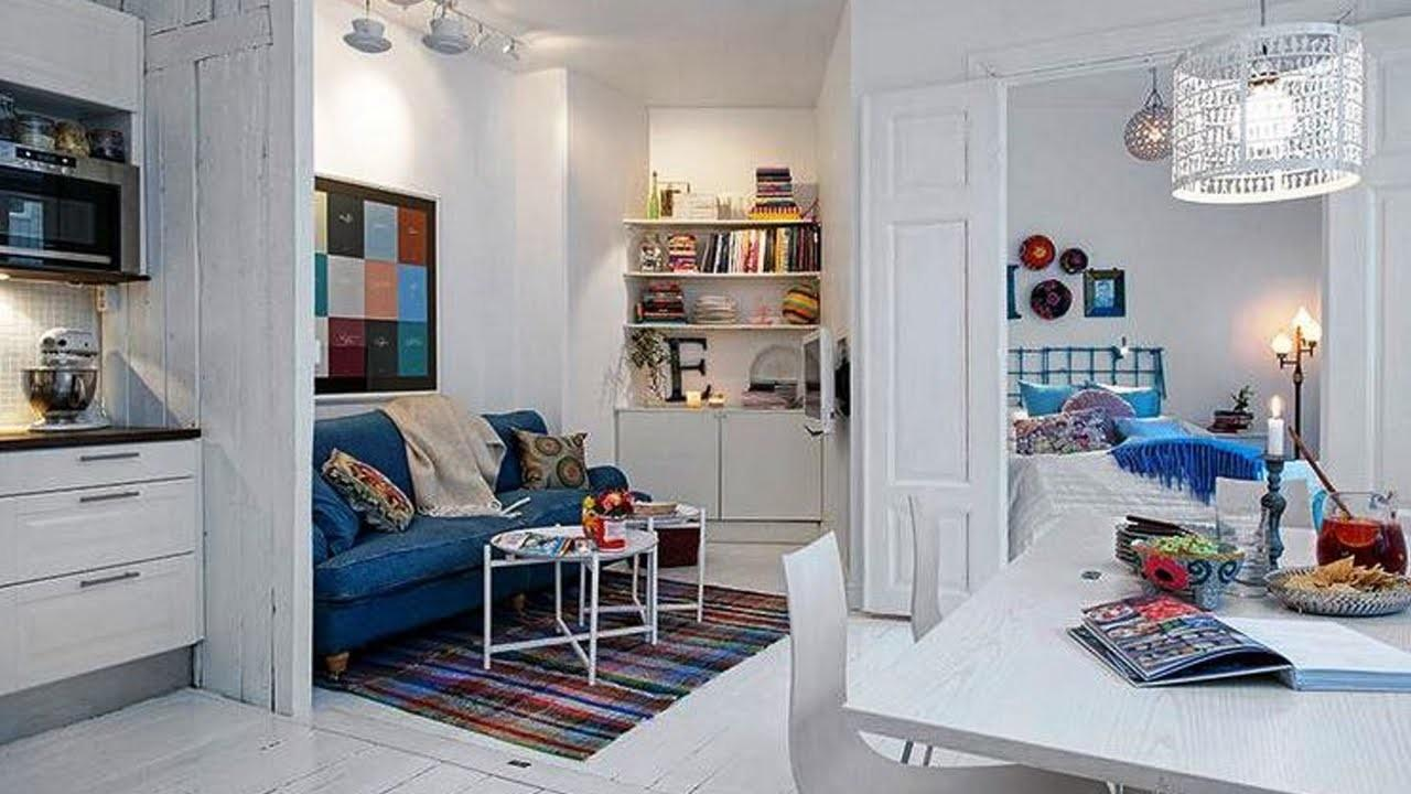 Sensational Tiny Apartments Cool Eclectic Small Spaces