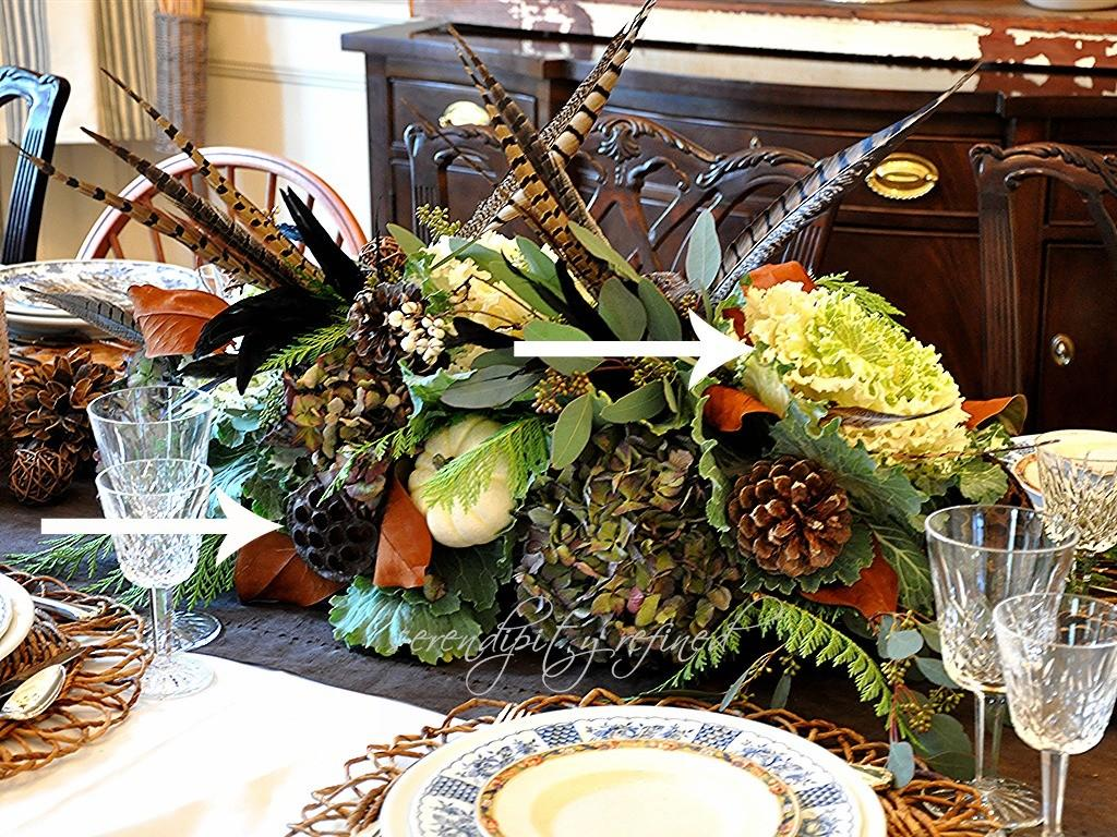 Serendipity Refined Blog Thanksgiving Table Decor