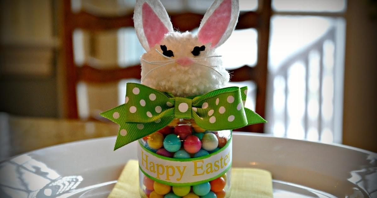 Serendipity Refined Blog Upcycled Baby Food Jar Easter