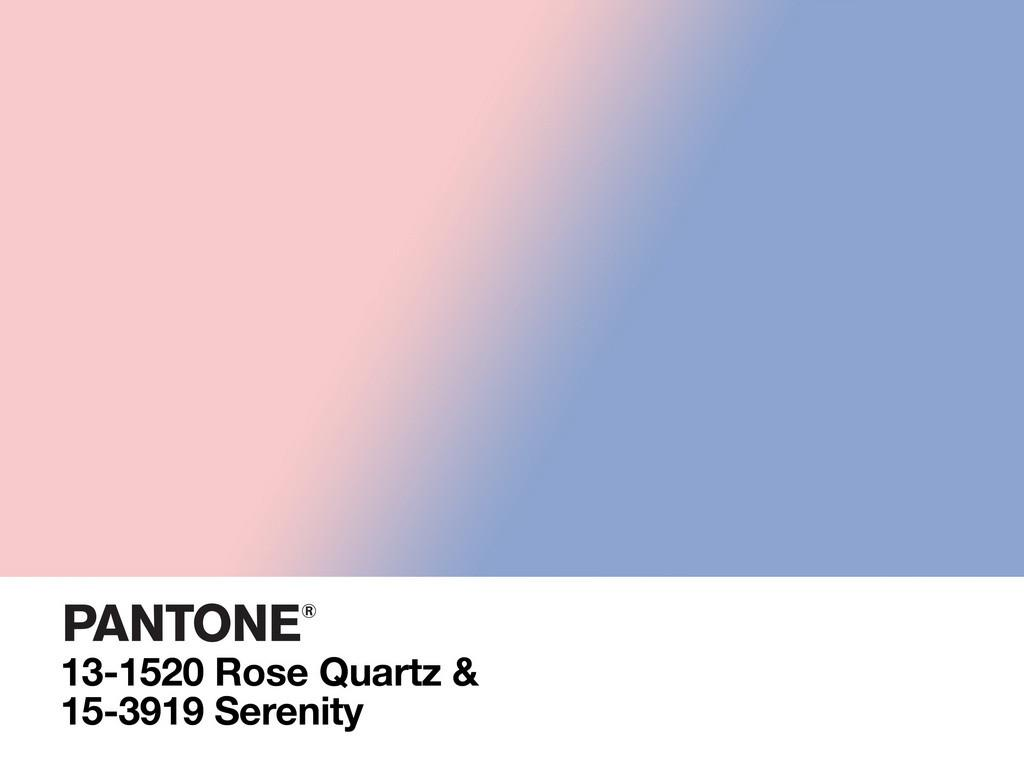 Serenity Rose Quartz Meet Pantone Color