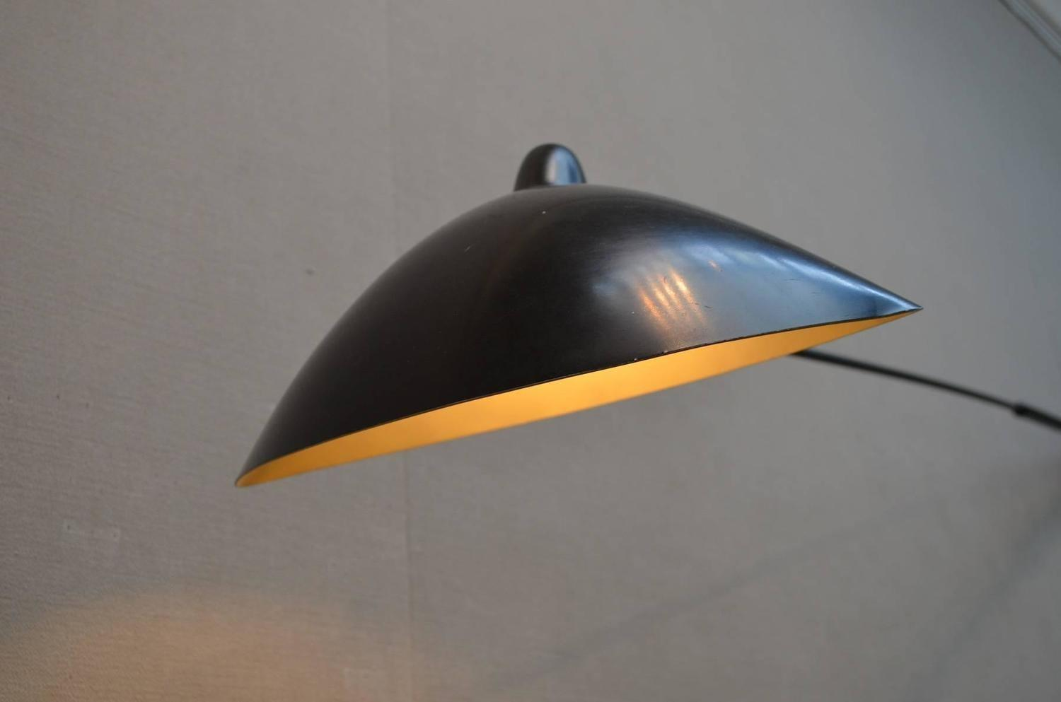 Serge Mouille Two Arm Rotating Wall Light Sale 1stdibs