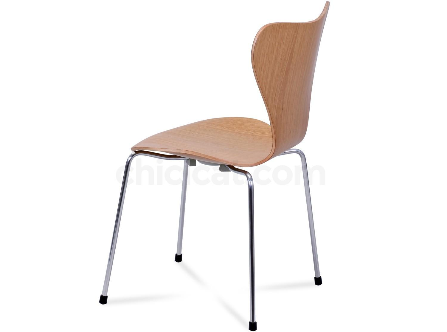 Series Chair Arne Jacobsen Platinum Replica