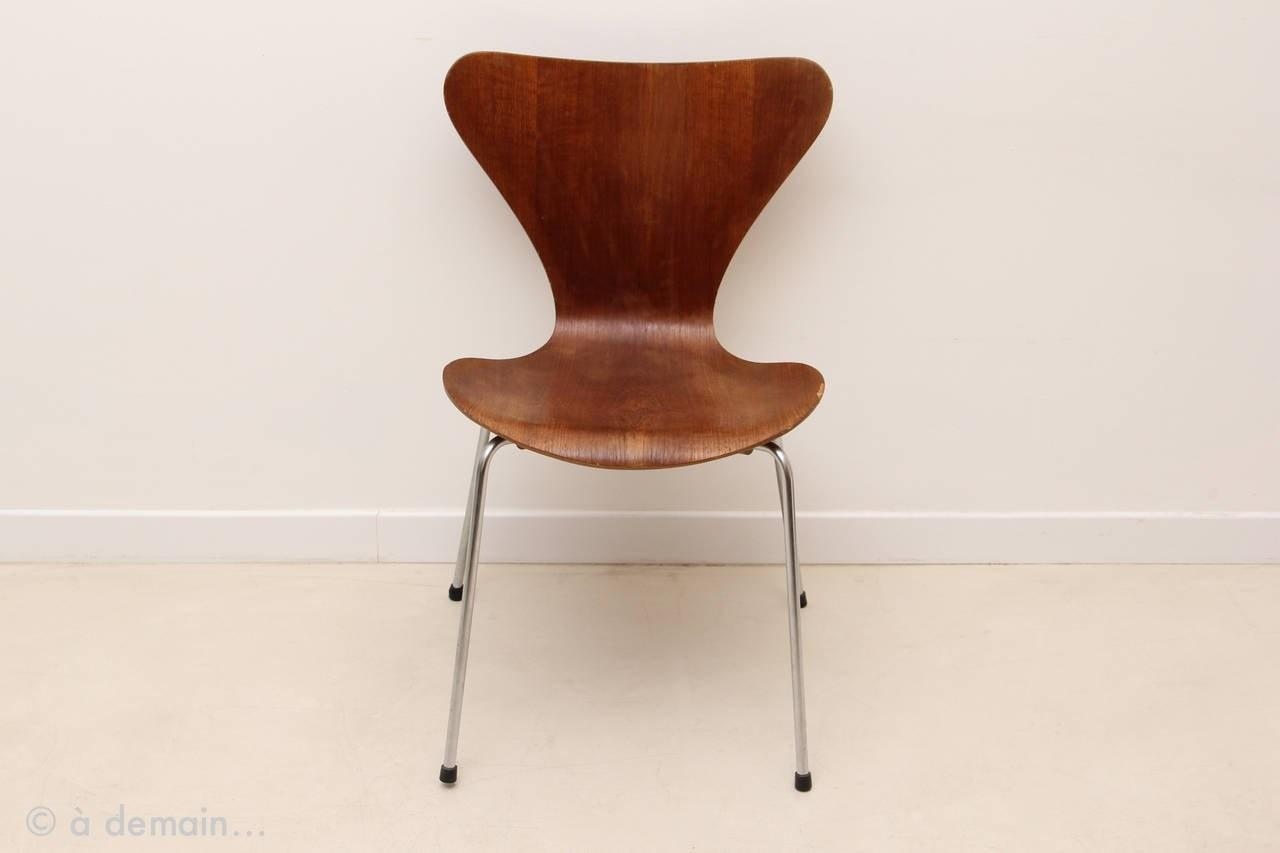 Series Chair Designed Arne Jacobsen Edited