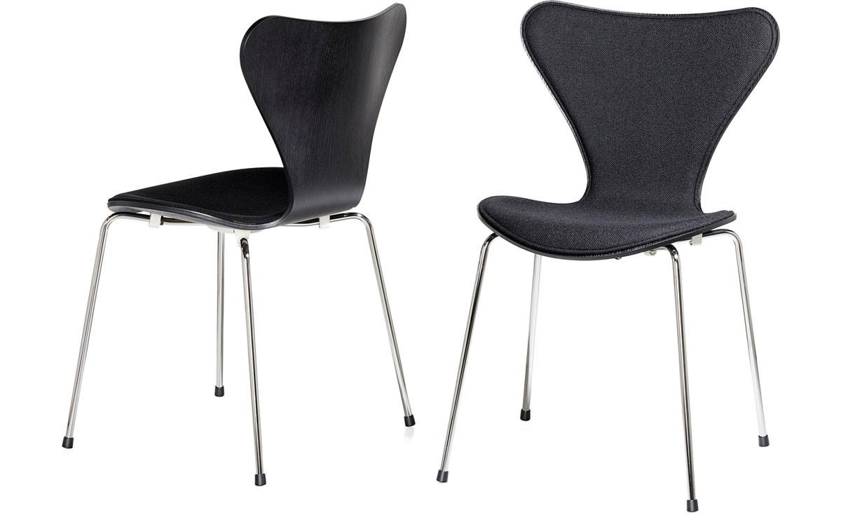 Series Side Chair Front Upholstered Hivemodern