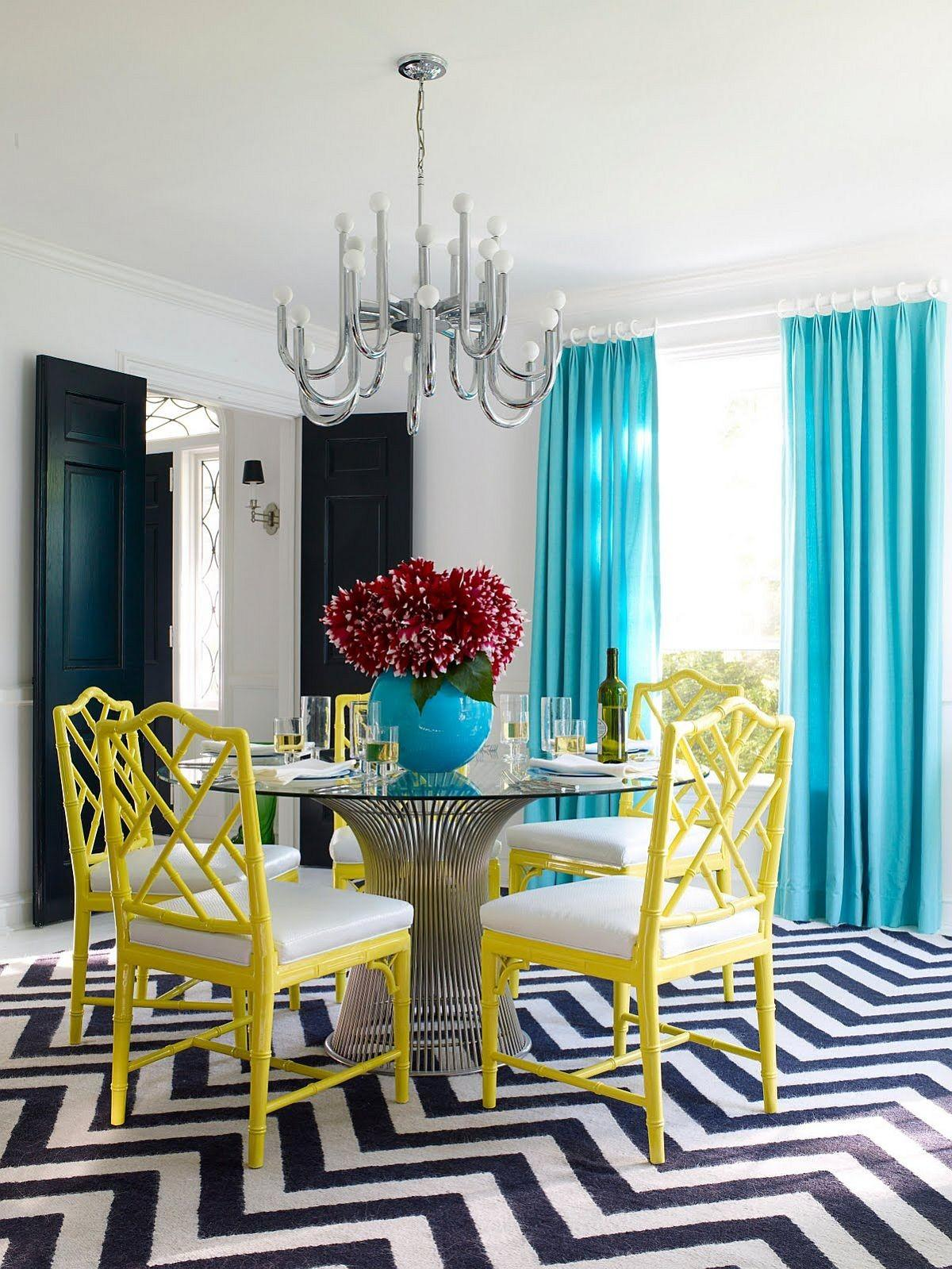 Serve Bright Ways Add Color Your Contemporary