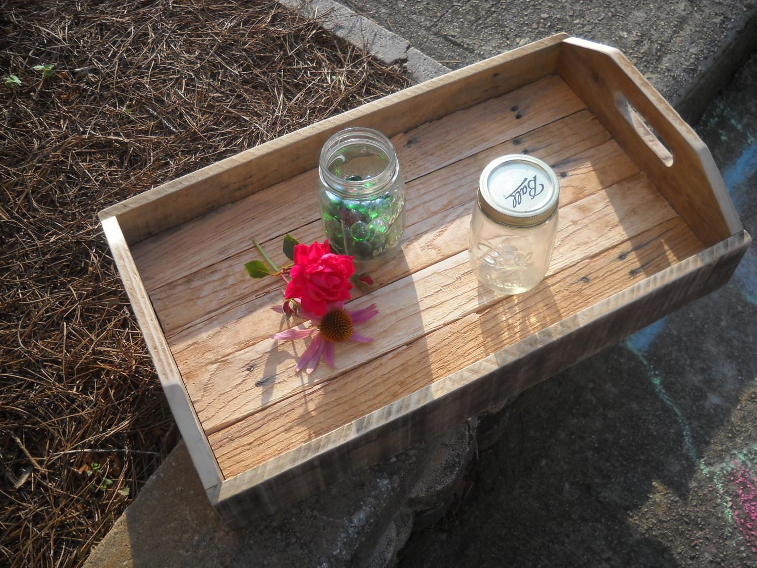 Serving Tray Wood Pallet