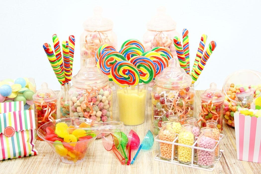 Set Candy Buffet Step Party