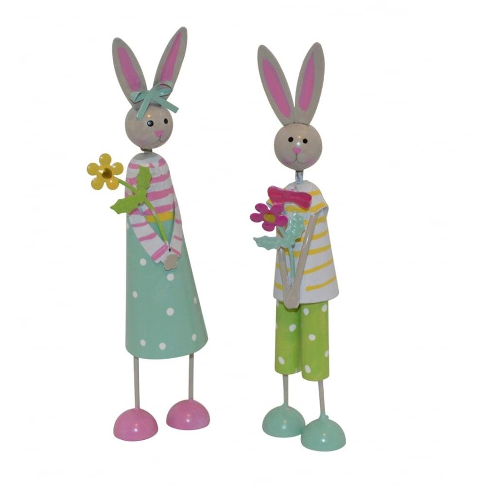 Set Easter Bunny Decorations Mollie Fred