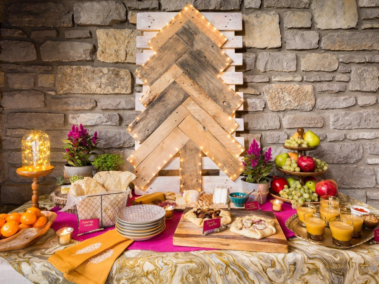 Set Gorgeous Buffet Table Your Holiday