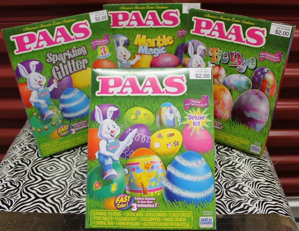 Set Paas Easter Egg Decorating Kits Tie Dye Deluxe