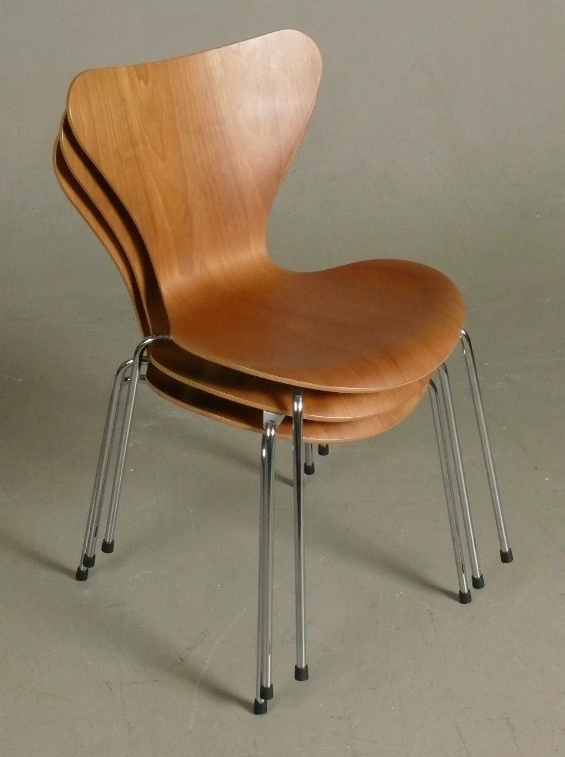 Set Series Dining Chairs Arne Jacobsen