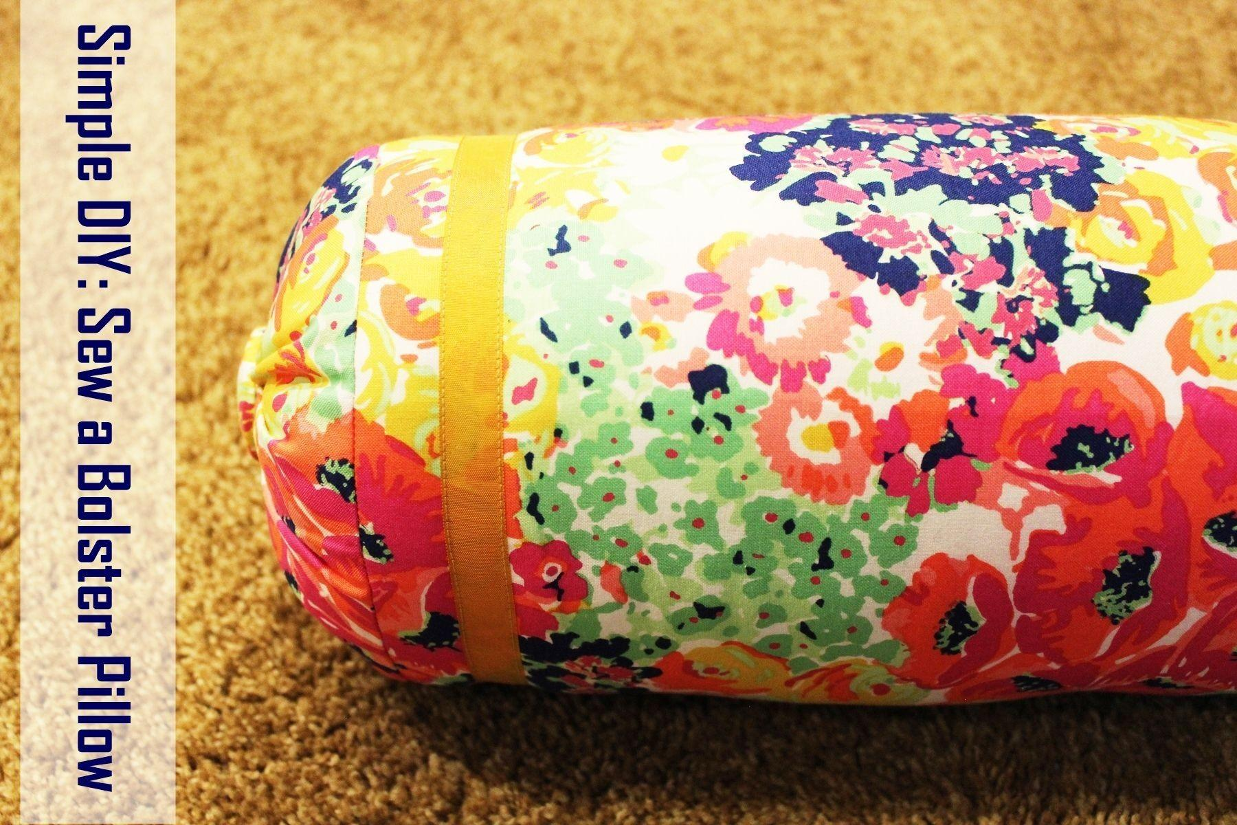 Sew Bolster Pillow Like Professional Healthy
