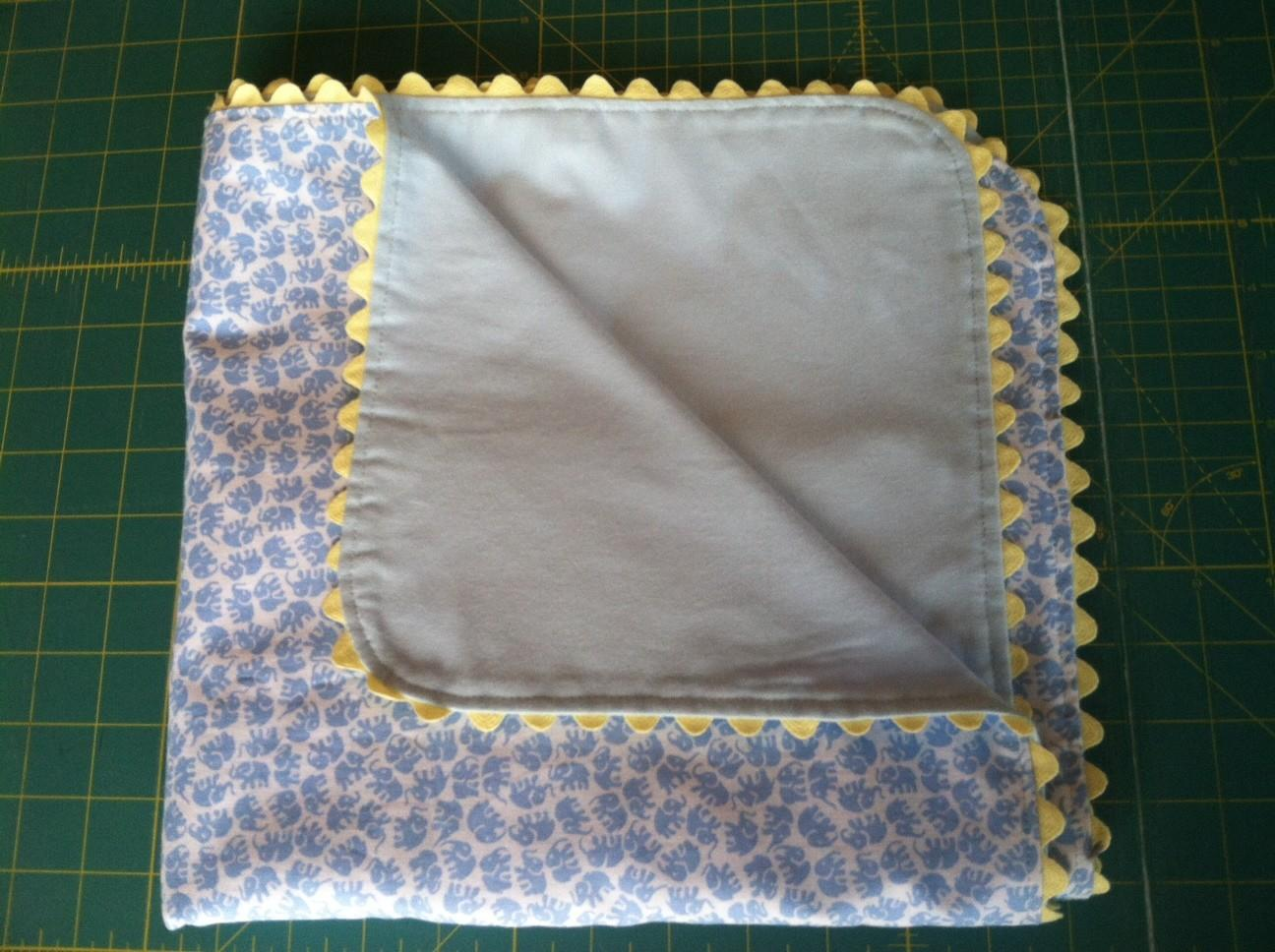 Sew Flannel Baby Blanket Thread Fabric Store