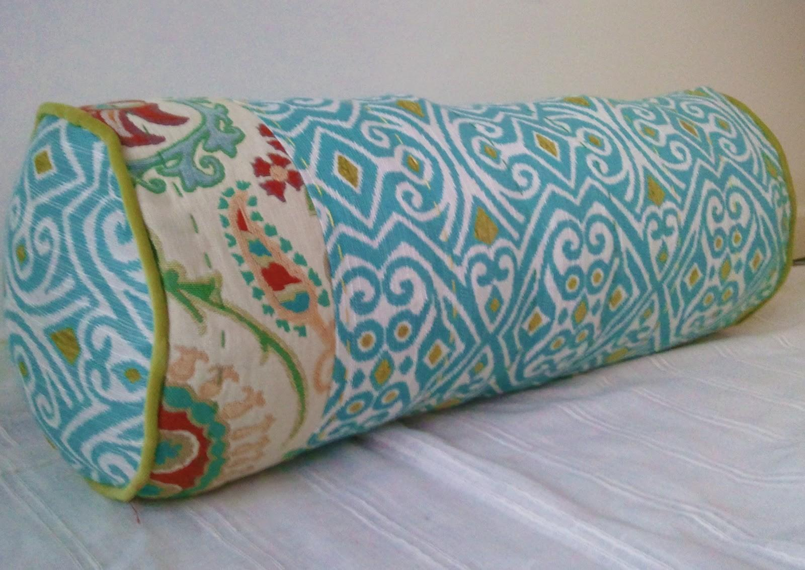 Sew Homegrown Diy Anthropologie Inspired Bolster Pillow