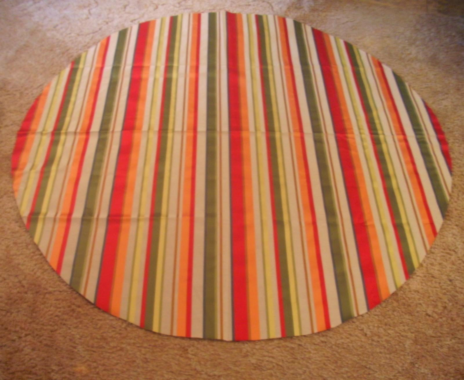 Sew Homegrown Diy Round Tablecloth
