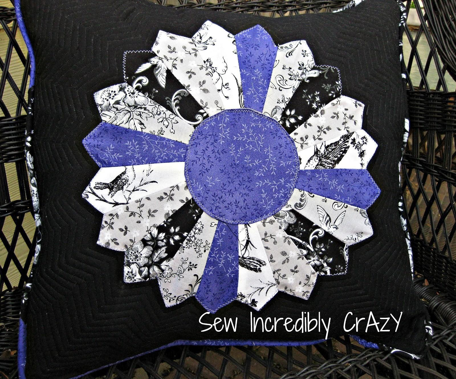 Sew Incredibly Crazy Dresden Pillow Mystery Project