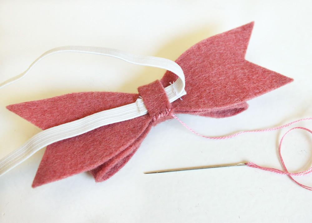 Sew Much Little Time Diy Felt Bow Bookmarks