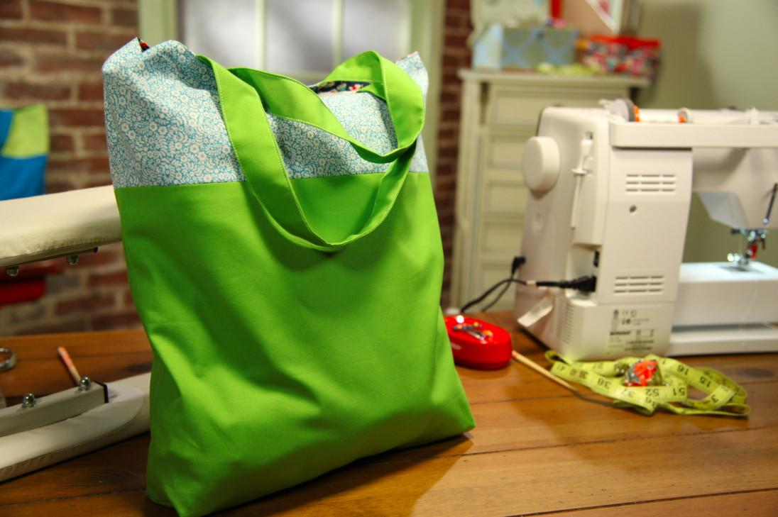 Sew Tote Bag Add Style Your Side