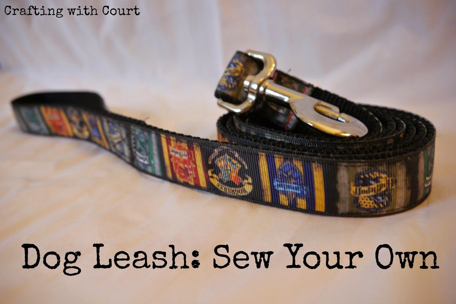 Sew Your Own Diy Dog Leash Think Crafts Createforless