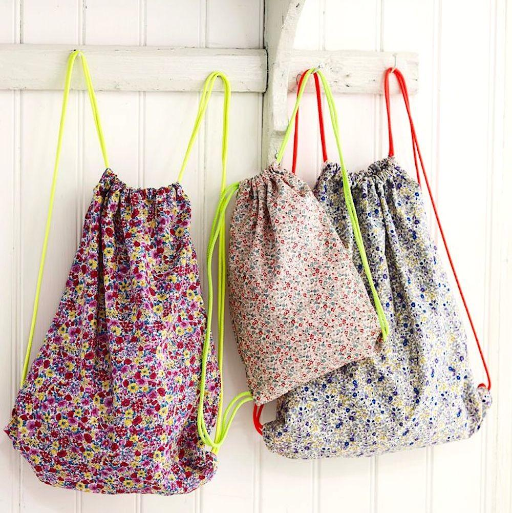 Sew Yourself Pretty Carry All Drawstring Bag Pattern
