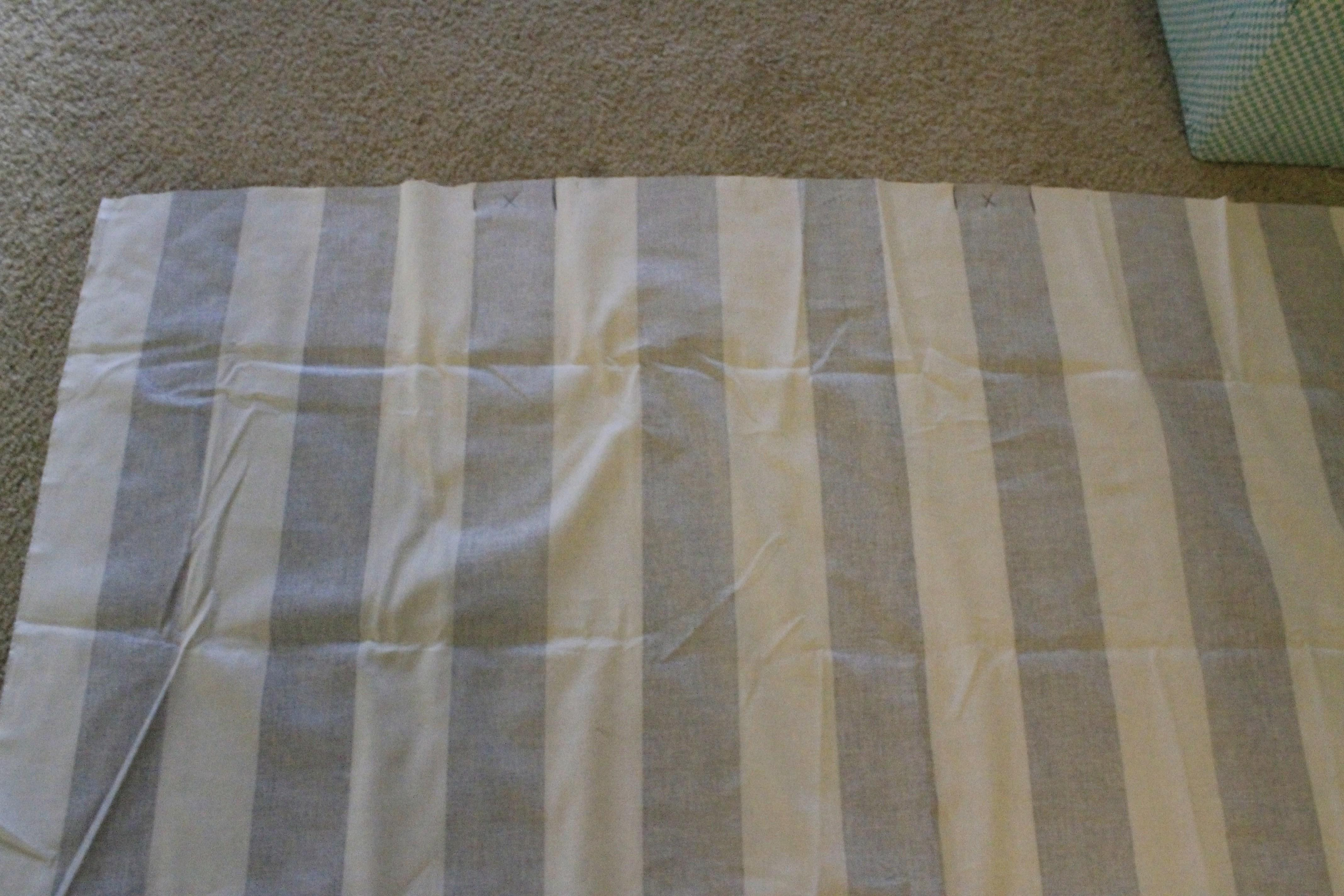 Sewing 101 Striped Table Runner Pointed End