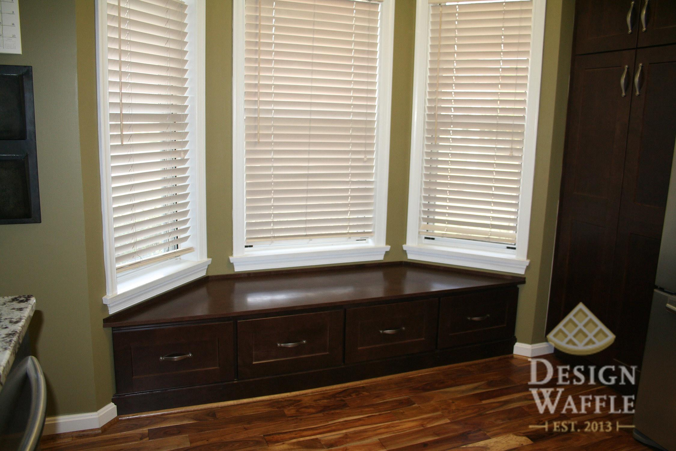 Sewing Bay Window Seat Cushion Design Waffle