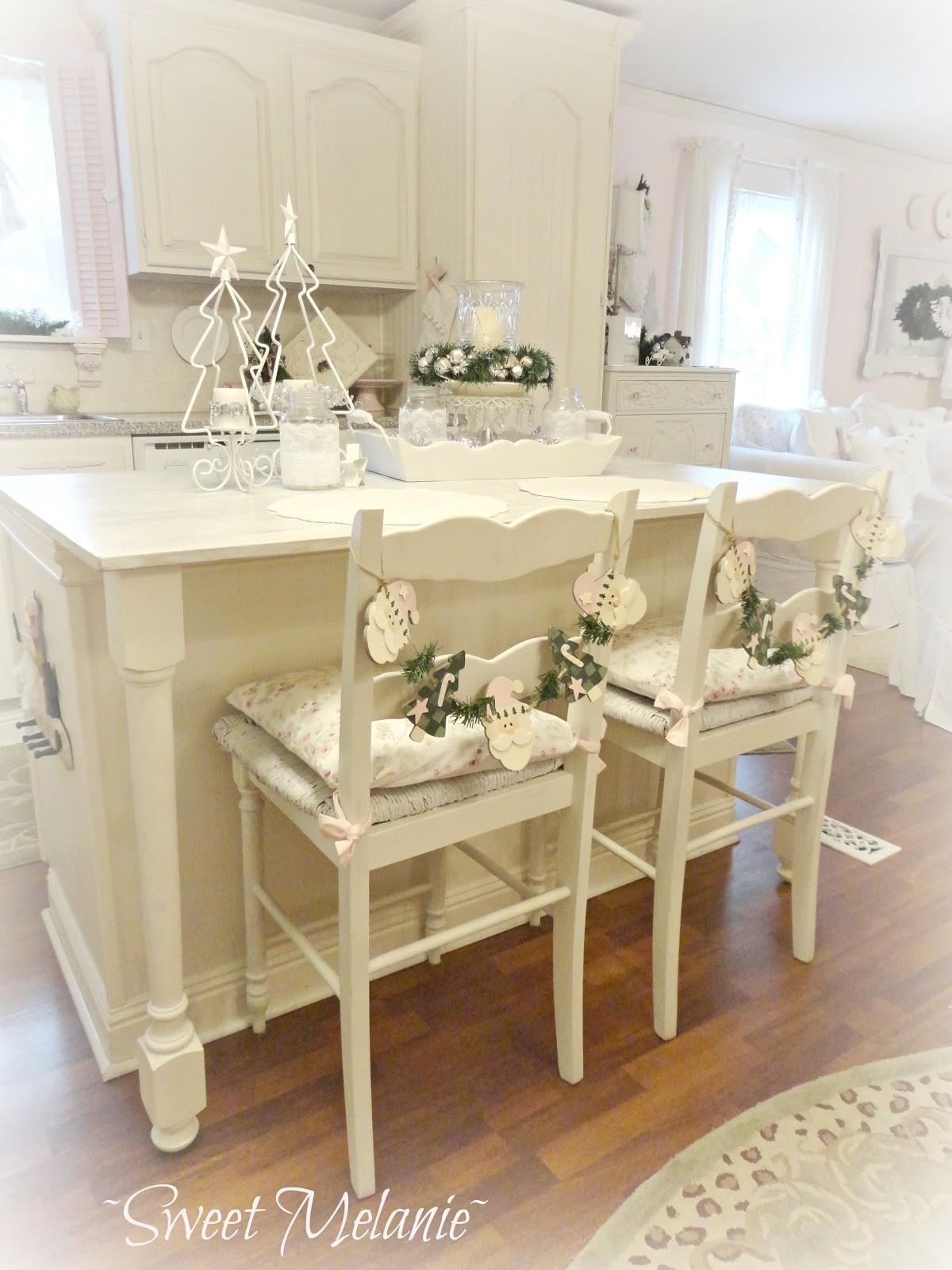 Shabby Chic Christmas Home Tour Debbiedoo