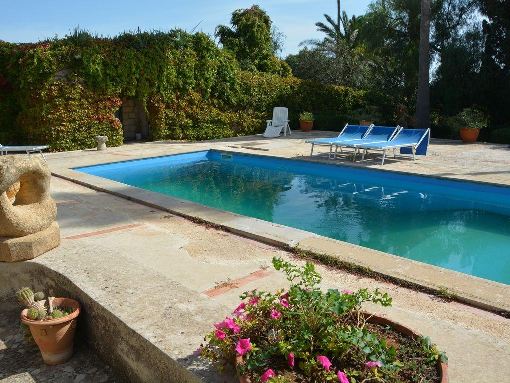 Shabby Chic Country House Pool Garden Wifi Modica