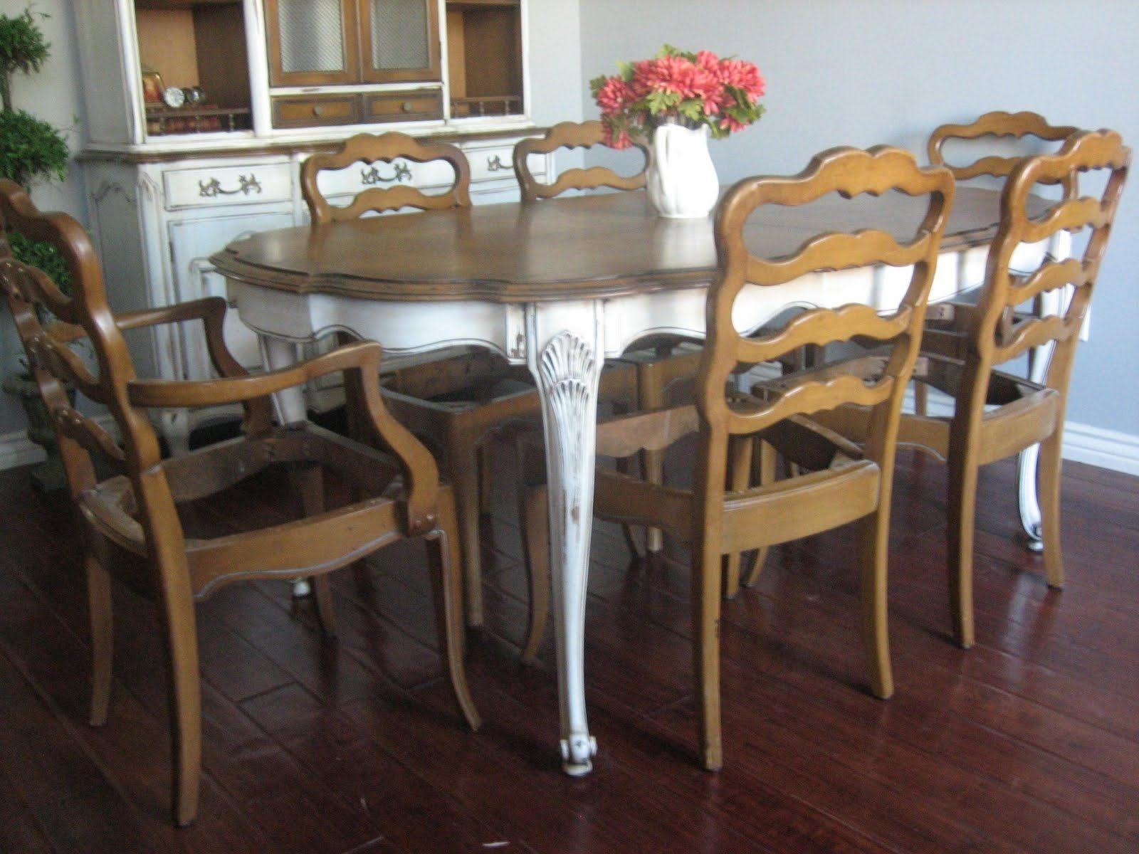 Shabby Chic Dining Room Chairs Elegant Drum Shade Table