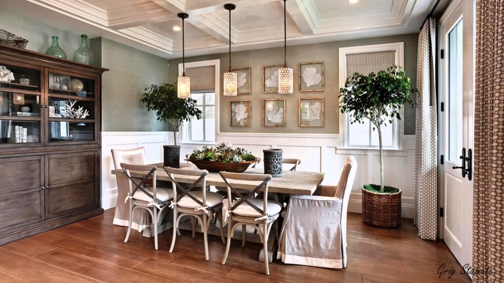 Shabby Chic Dining Room Living Space Ideas