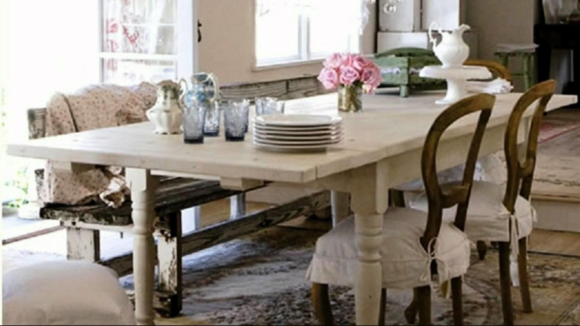 Shabby Chic Dining Rooms Ideas