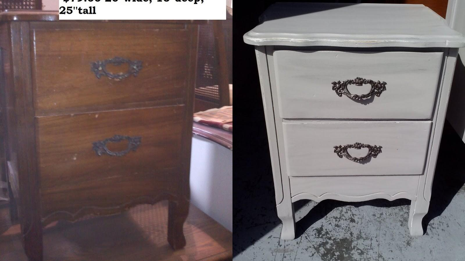 Shabby Chic Furniture Painting Ideas Ladder