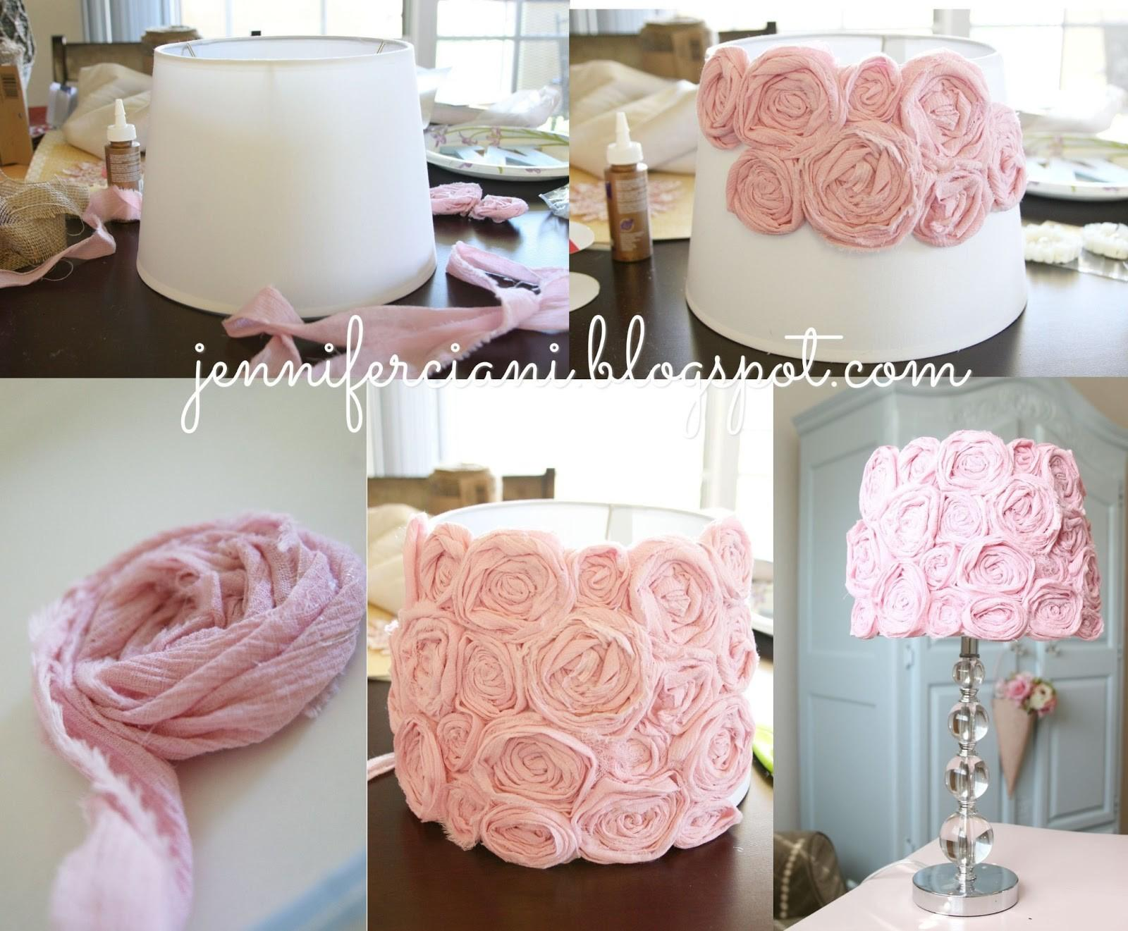 Shabby Chic Lamp Shade Simply Ciani