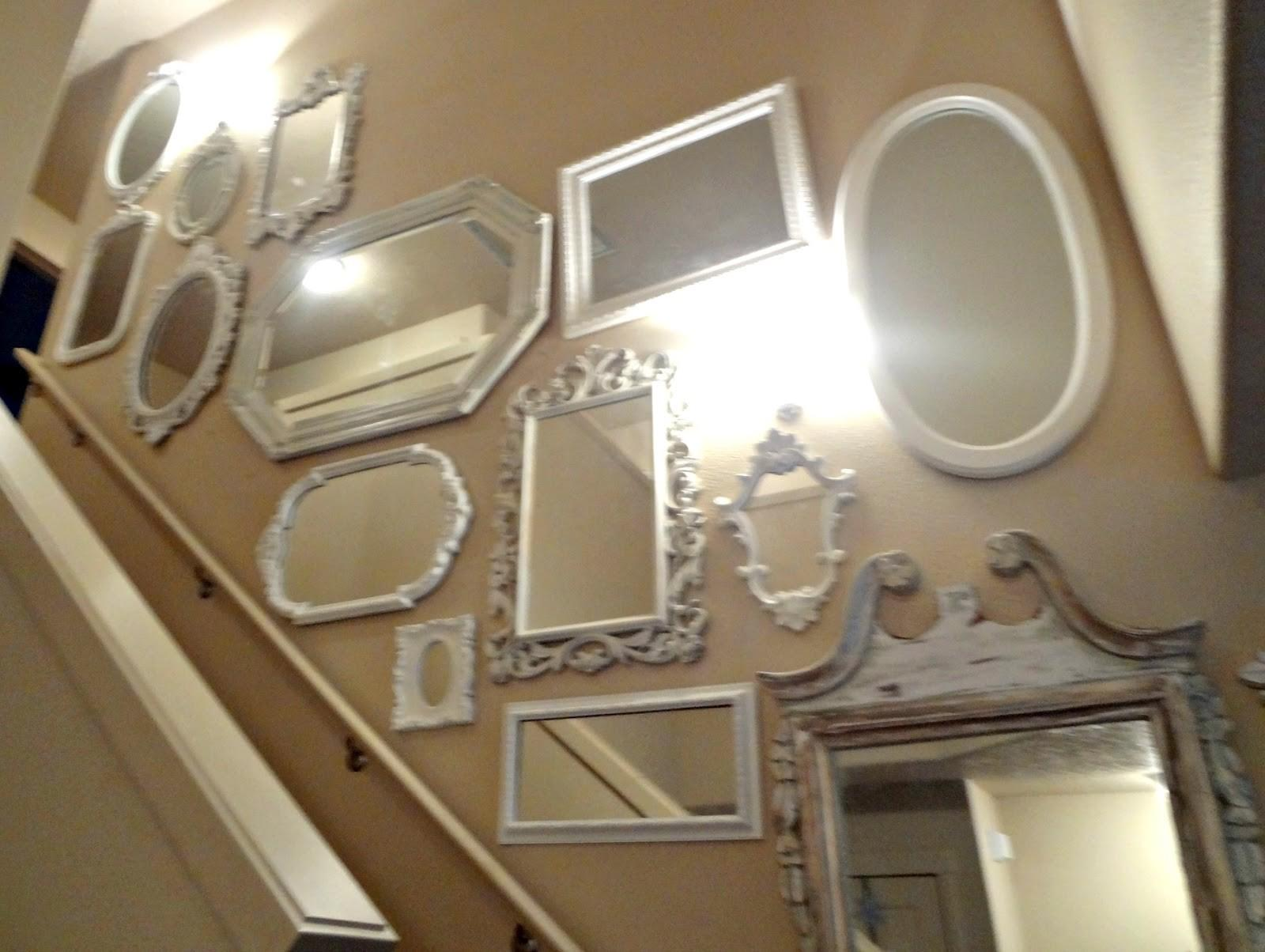 Shabby Chic Mirror Wall