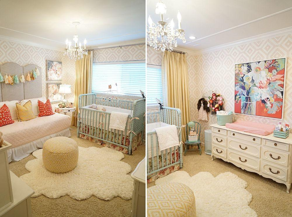 Shabby Chic Nurseries Charming Pink Radiance