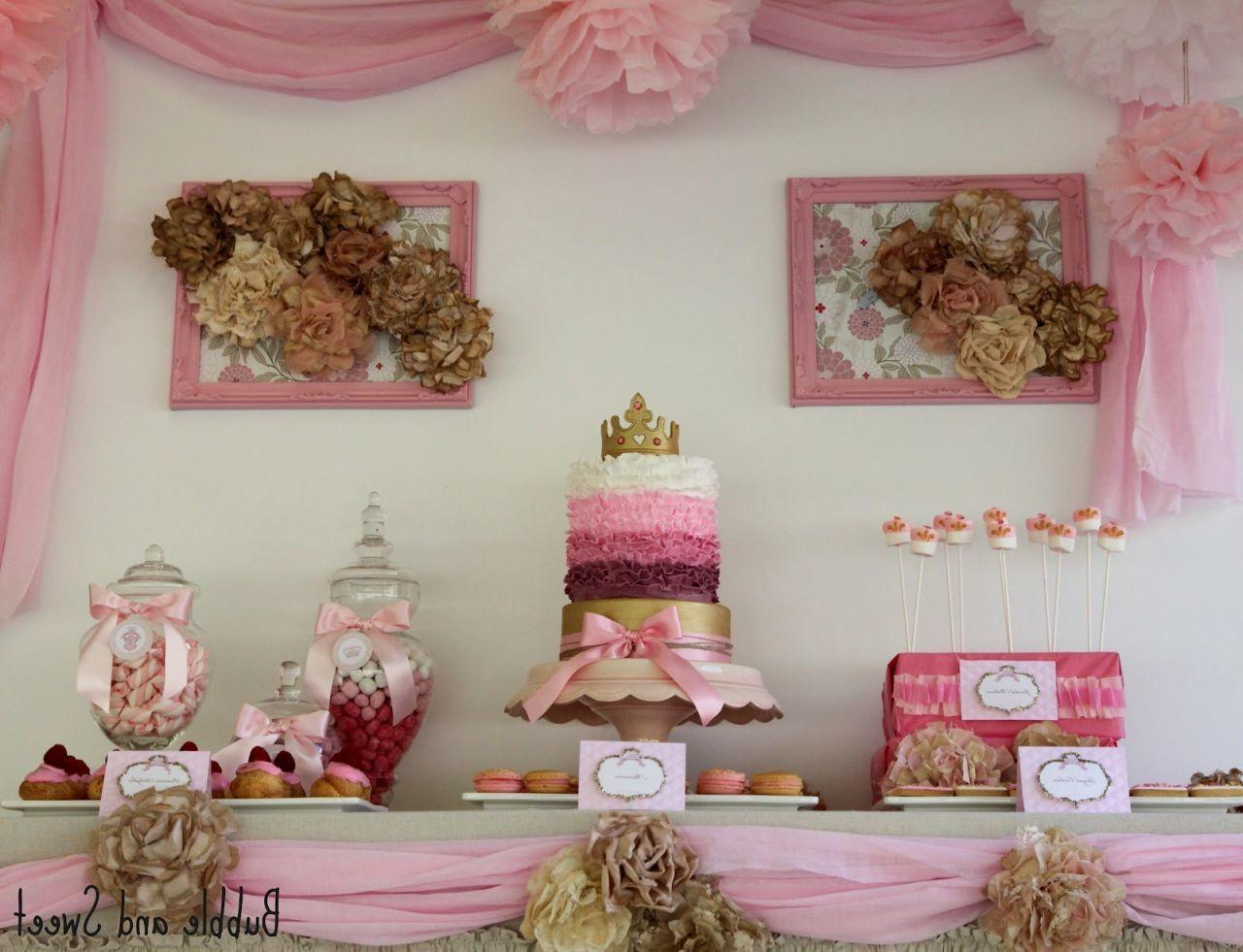 Shabby Chic Party Ideas Cake Design